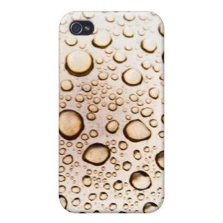 Guld- vatten tappar iPhone 4 fodraler