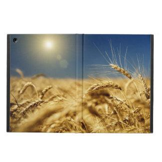 Guld- vete och blå himmel med solen iPad air skal