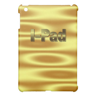 Guld- vinka mig vadderar fodral iPad mini skydd