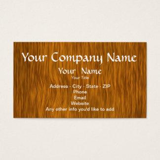 Guld- Wood bakgrundsanpassningsbarvisitkortar Visitkort
