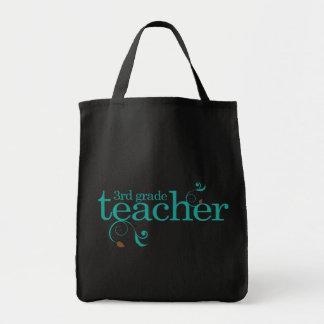 Gullig 3rd klasslärare mat tygkasse