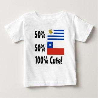 Gullig 50% uruguayansk 50% chilenare 100% t-shirt