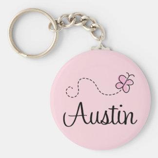 Gullig Austin Texas T-tröja Rund Nyckelring