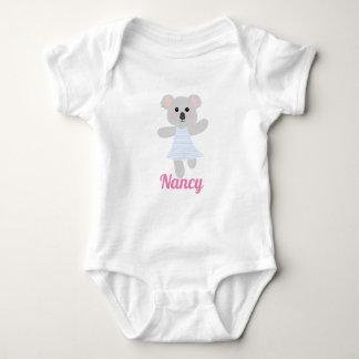 Gullig baby shower för björn för grå färgbabyKoala T Shirts