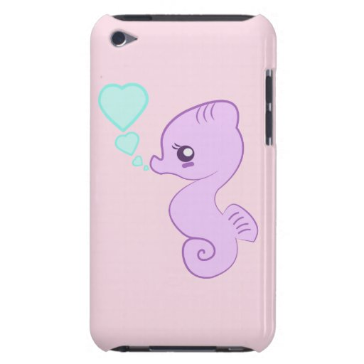 Gullig babySeahorseipod fodral iPod Touch Cover