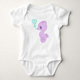 Gullig babySeahorseranka Tee Shirt