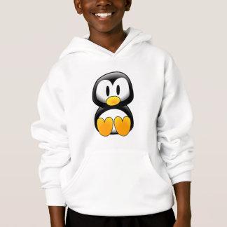 Gullig babytecknadpingvin t-shirts