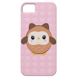 Gullig babyugglaiphone case iPhone 5 Case-Mate fodraler