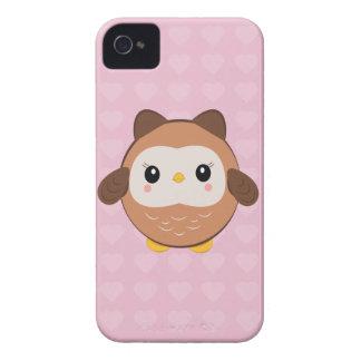 Gullig babyugglaiphone case iPhone 4 Case-Mate skal