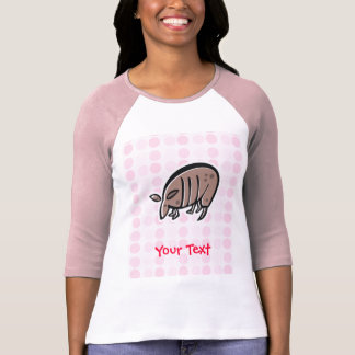 Gullig bältdjur t-shirts