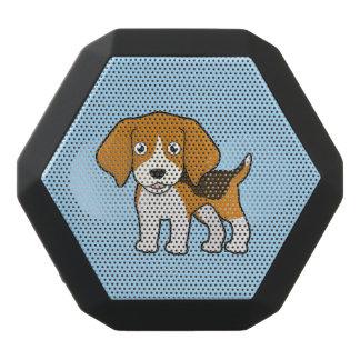 Gullig Beagle Svart Bluetooth Högtalare