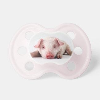 Gullig bebispigletnappar, soother, attrapp, gåva napp