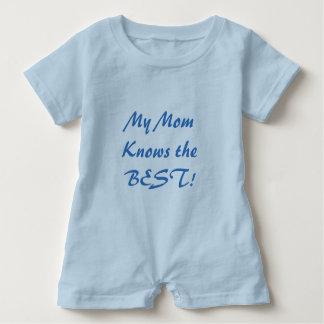 Gullig bebisromper tee shirt
