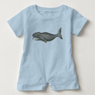 Gullig bebisromper, val, baby showergåva tshirts