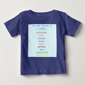 Gullig bebist-skjorta för ett framtida… t shirts