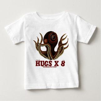 Gullig bebist-skjorta för rolig bläckfisk tröjor