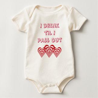 gullig bebist-skjorta sparkdräkt