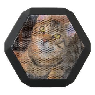 Gullig Bengal kattunge Svart Bluetooth Högtalare