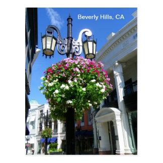 Gullig Beverly Hills vykort! Vykort