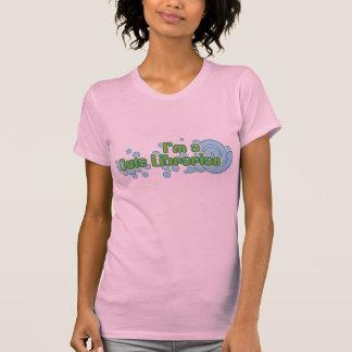 gullig bibliotekarie t-shirt