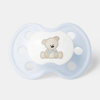 Gullig björnnappar för pojke napp
