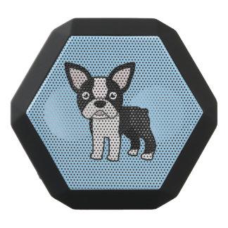 Gullig Boston Terrier Svart Bluetooth Högtalare