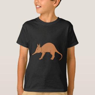 Gullig brun Aardvark Tshirts