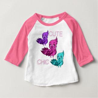 Gullig chic T-tröja med sleever T Shirt
