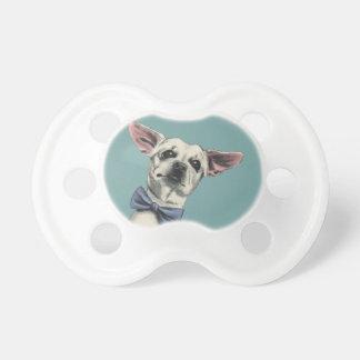 Gullig Chihuahua med flugateckningen Napp