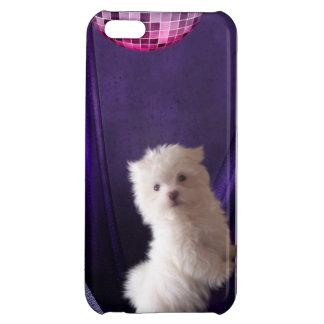Gullig dans för Puppie hunddisko iPhone 5C Skal