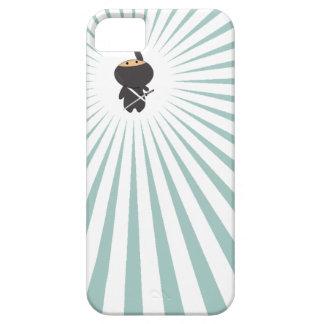 gullig dingla ninja med blåttstrålar iPhone 5 cases