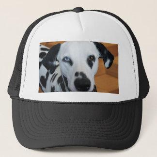 Gullig en Dalmatian hund för blåttöga Keps