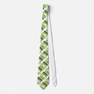 Gullig Fankensteins gigantisk mönsterHalloween Tie Slips