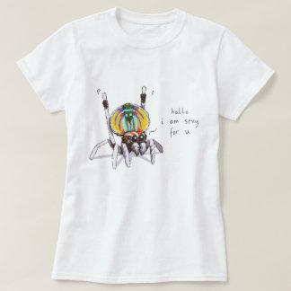 Gullig färgglad rolig skjorta för t shirts