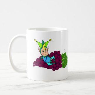 Gullig fet elakt troll kaffemugg