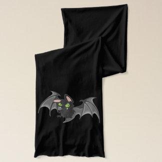 Gullig fladdermöss Halloween Halsduk