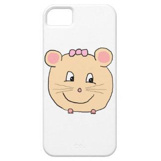 Gullig flickaktigt mus iPhone 5 skydd