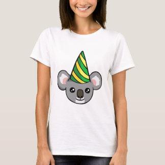 Gullig födelsedagKoala i skjorta för Tröjor