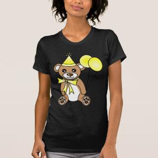Gullig födelsedagnalle - gult t-shirt