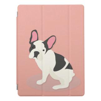 Gullig fransk Bulldog. iPad Pro Skydd