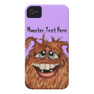 Gullig gigantisk ansikteblackberry fodral Case-Mate iPhone 4 skal