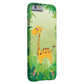 Gullig giraffiPhone 6/6s Barely There iPhone 6 Skal