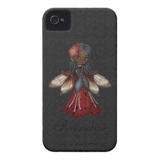 Gullig gotisk blommafeblackberry bold iPhone 4 skydd