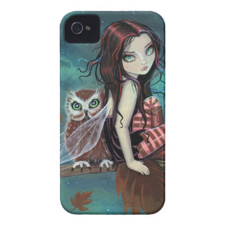 Gullig gotisk iphone case för fe- och Case-Mate iPhone 4 fodral