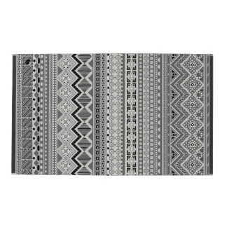 Gullig grå aztec mönsterdesign iPad cases