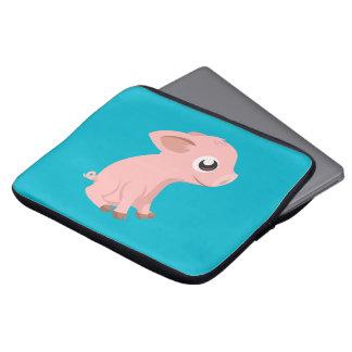 Gullig gris laptop datorskydd