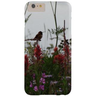 gullig grön Hummingbird på skymningen Barely There iPhone 6 Plus Fodral