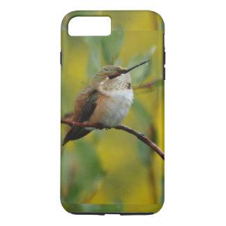 gullig grön Hummingbirdgultbakgrund