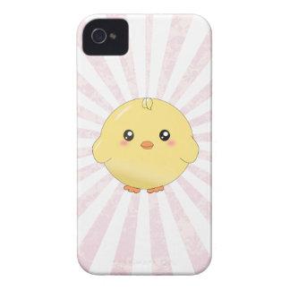 Gullig gul chick iPhone 4 skydd