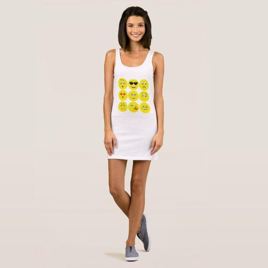 Gullig gult och vit Emojis Tröjor